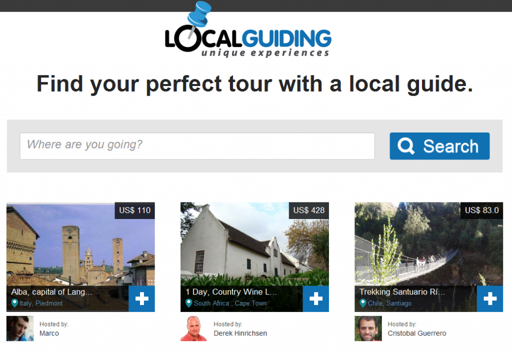 Local Guiding Homepage